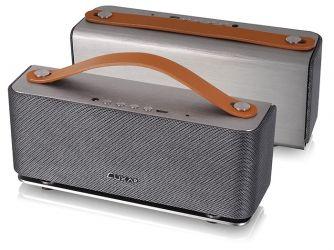 Аудиоколонка Luxa2 Groovy серебро