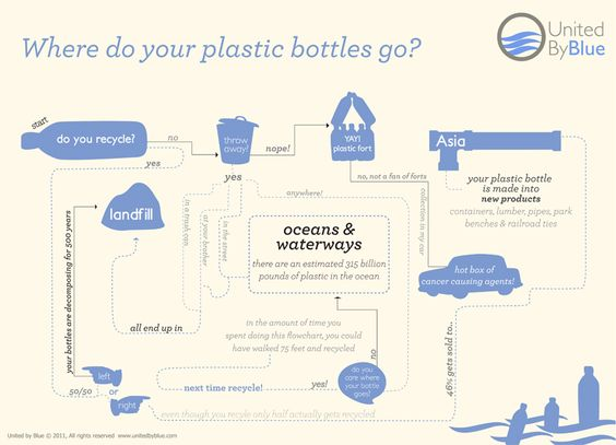 Recycling: Where do your plastic bottles go?