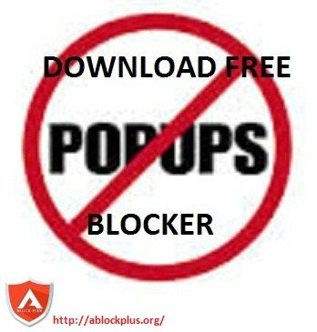 If you are noticing unwanted pop ups on your browser, then these pop ups can be malicious and may cause problem. To get rid of such pop ups download free pop blocker such as Ablock Plus and make your system secured.