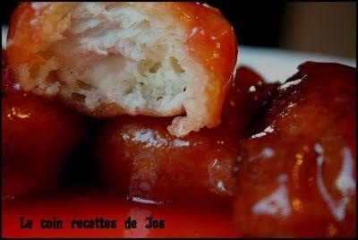 Le coin recettes de Jos: POULET CHINOIS À LA SAUCE ROUGE