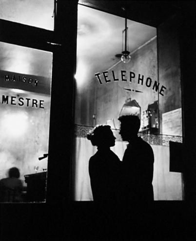 """In Front of Mestre"" - Paris - 1947 - photographer Willy Ronis.:"