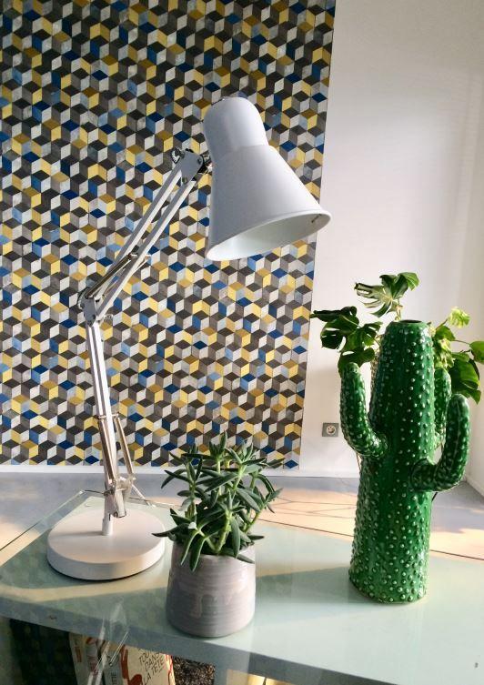 Lampe De Bureau Colours Acuna Blanc Lampe De Bureau Tendance Deco Et Castorama
