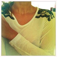 DIY Das mach ich selber!: DIY T-Shirt mit Spitze. Einfach spitzenmäßig!