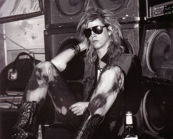 Duff McKagan of Guns N' Roses, late '80s #gnr #gunsnroses #rockstar #rockicon
