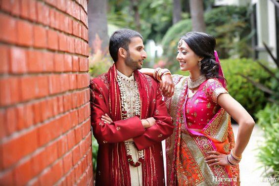 indian portraits wedding bride groom http://maharaniweddings.com/gallery/photo/10849