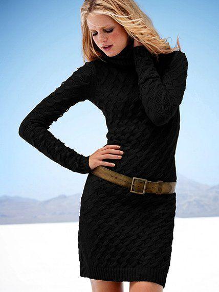 TurtleneckSweaterdress - Victoria's Secret: