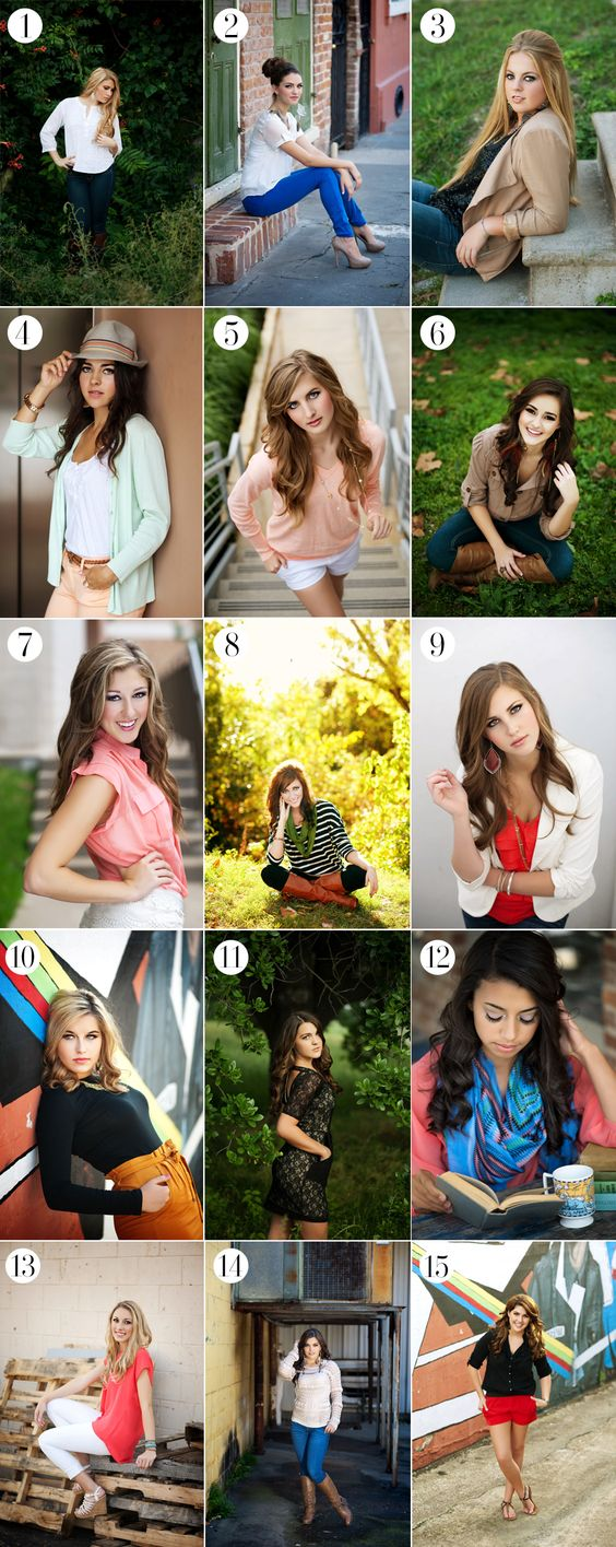 Photography poses