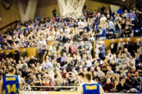 Blurred Background Of Crowd Of People In A Basketball Court Stock Photos Ad Crowd People Blurred Background Blurred Background Blur Photo Blur