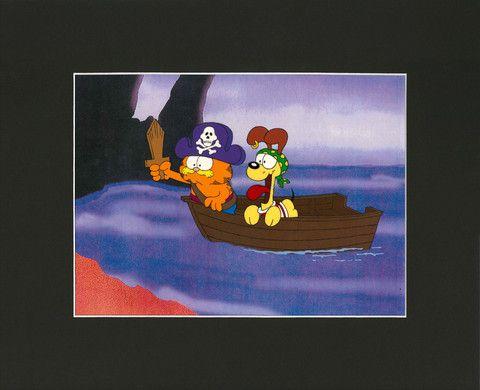 Garfield's Art Gallery & Collectibles - Original Animation Cel ...