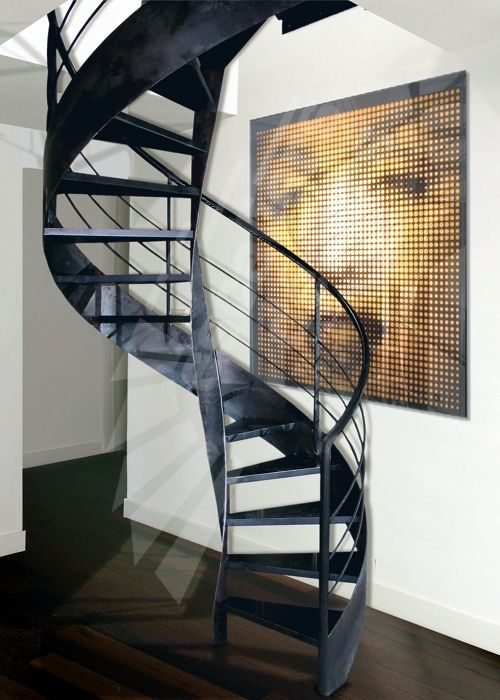 Pinterest le catalogue d 39 id es - Escalier helicoidal metallique ...