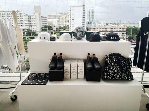 baloncesto fue el motivo principal de la instalación y colección que presentó la tienda más cool de Miami durante esta edición de Art Basel 2014, Alchemist