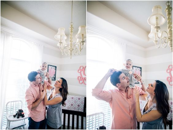3 month milestone lifestyle session - Houston lifestyle photographer