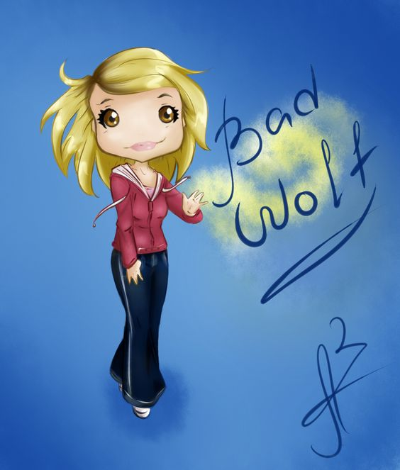 Bad Wolf chibi by Miss-Alex-Aphey.deviantart.com on @deviantART