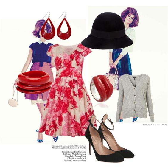 """sweet sixties"" by dusty-peach on Polyvore"
