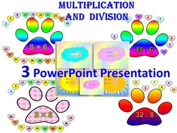 Fact families multiplication and division powerpoint
