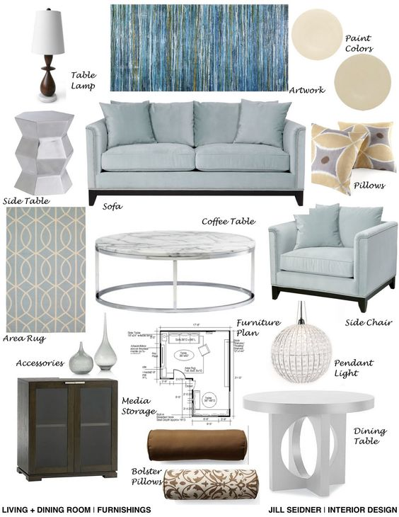 Good Interior Design Concept Board With Online Design Interior