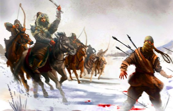 mongols as villians These powerful eulogies for the villain of jayasi's masnavi often overshadow   after a close shave with the mongols in 1303 ad at siri, khalji.