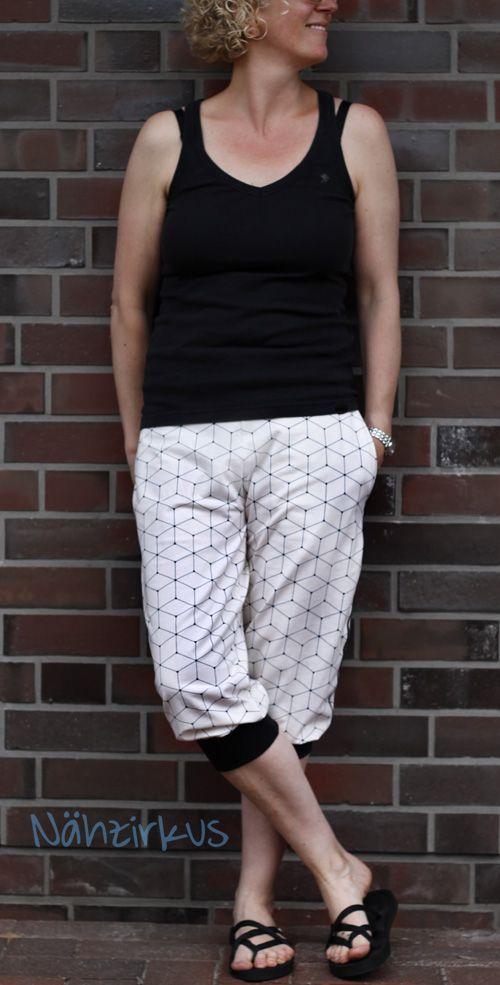 lillesol & pelle Schnittmuster / pattern: Sommerhose /summer pants