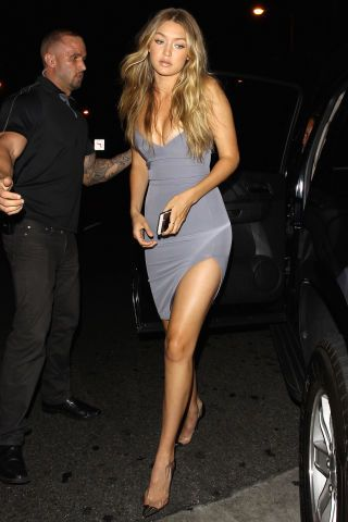 14 affordable celebrity outfits to shop now: Gigi Hadid's skin-tight dress