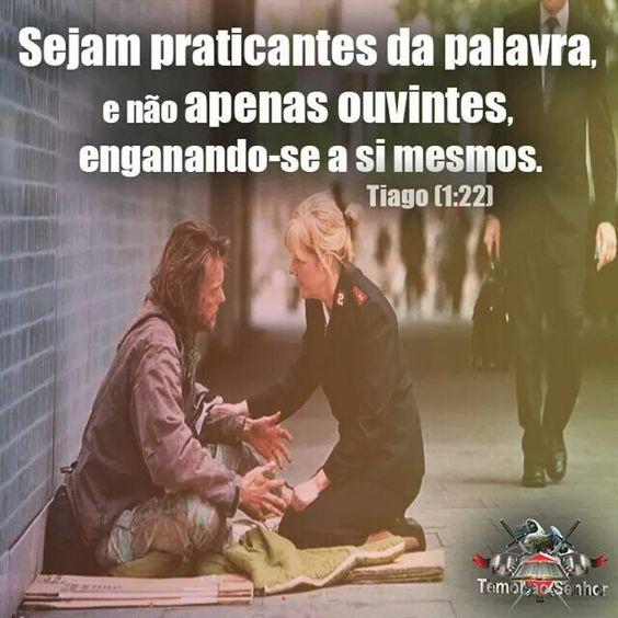 Tiago 1:22