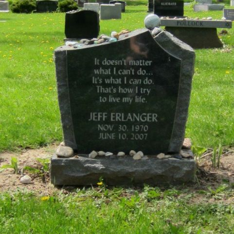 Jeffrey Clay Erlanger 1970 2007 Find A Grave Memorial Grave Memorials Find A Grave Mister Rogers Neighborhood