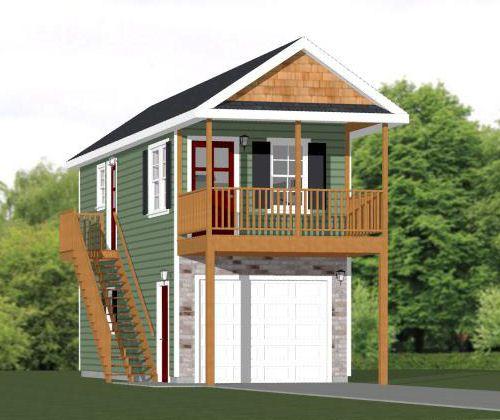 12x32 Tiny House -- #12X32H6A -- 461 Sq Ft