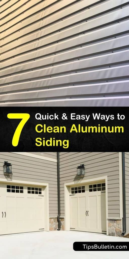 Discover How To Clean Aluminum Siding Using Things Like Bleach Or A Pressure Washer Pressure Wa In 2020 Aluminum Siding How To Clean Aluminum Cleaning Aluminum Siding
