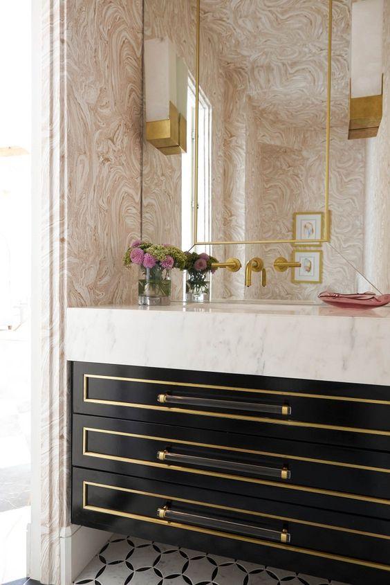 Charming Modern  Bathroom