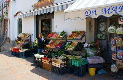 Ferienwohnung: Casa dei Fiori in Praiano - Frisches Obst und Gemüse in Praiano.  www.amalfi-ferien.de