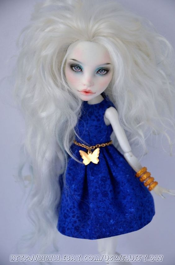 Monster High Doll - OOAK repaint Spectra by Galina Aprelskaya