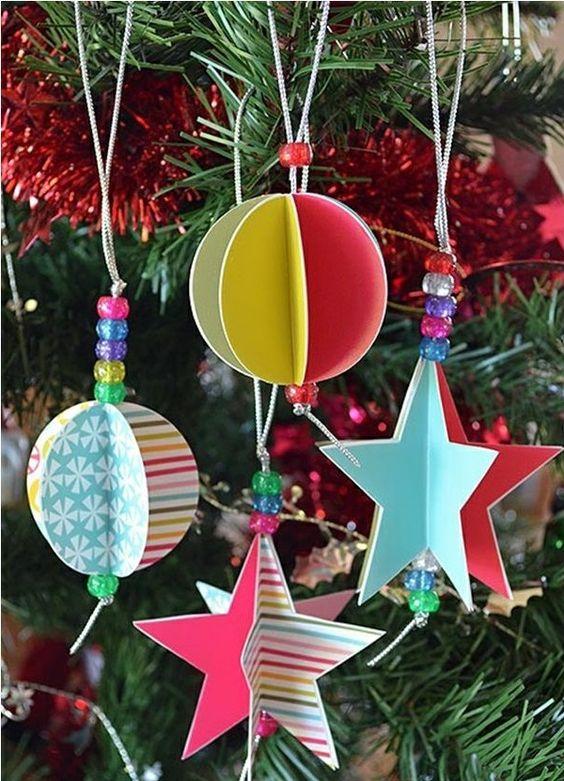 bastelideen weihnachten weihnachtsbaum schmuck kugeln. Black Bedroom Furniture Sets. Home Design Ideas