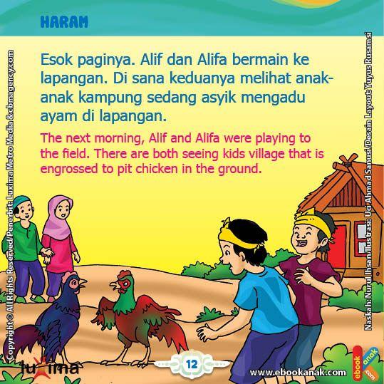 Bagaimana Hukum Mengadu Ayam Buku Anak Membaca Buku Buku