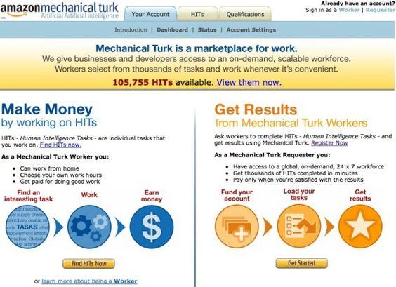 Make an Extra $50/Week Working for Amazon.com Amazon Mechanic Turk info-  Penny Hoarder
