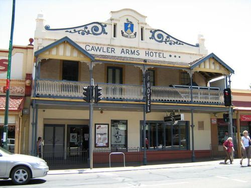 Some old buildings in Gawler, Australia: