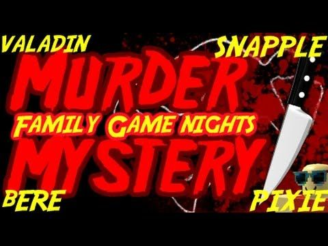 whodunit mystery night game