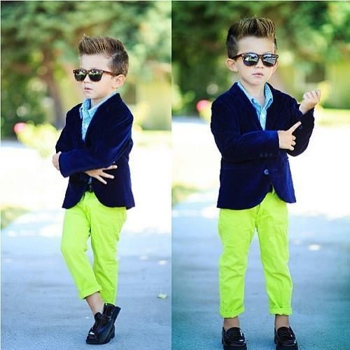 kids green pants - Pi Pants