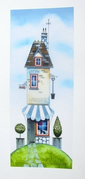 "Gary Walton ""The Hardware Store"" Hand Signed Limited Edition Giclee"