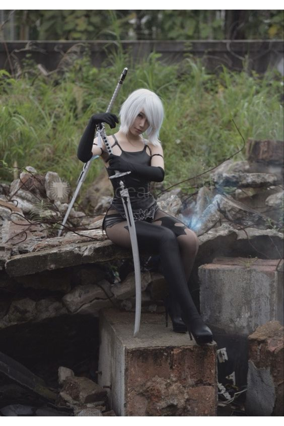 Nier Automata A2 Black Cosplay Costume http://www.trustedeal.com/Nier-Automata-A2-Cosplay-Costume.html