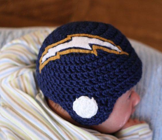 chargers baby helmet