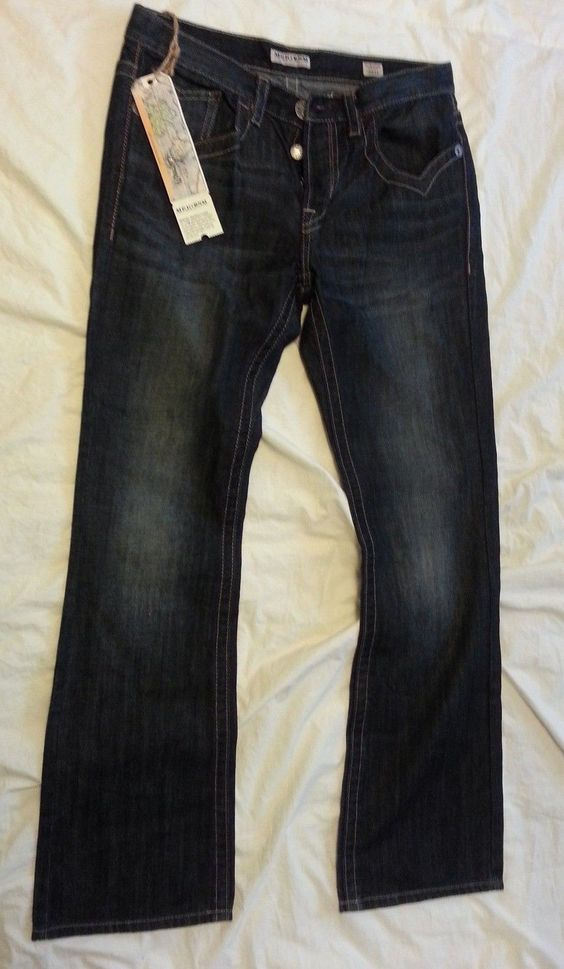 jeans for sale : MEK DENIM JEANS men size 33x34 model HARRISON ...