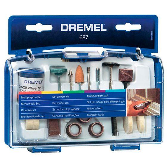 Juego multiuso DREMEL 52 PIEZAS Ref. 13014155 - Leroy Merlin