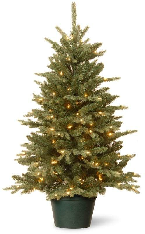Evergreen 3 Green Pine Artificial Christmas Tree With 100 Clear Lights In 2021 Artificial Christmas Tree White Artificial Christmas Tree Tabletop Christmas Tree