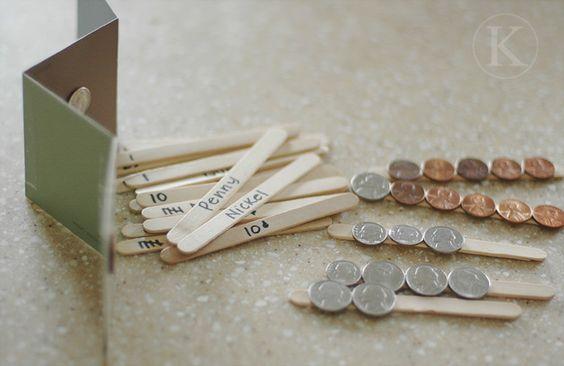 Money Matching Sticks