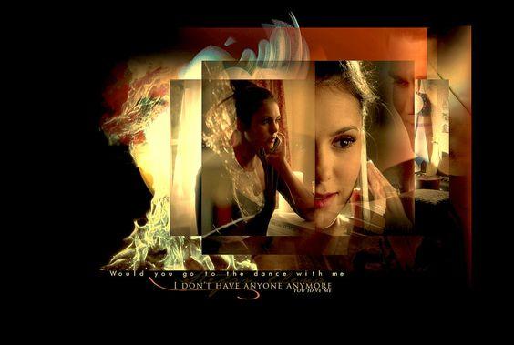 Elena Gilbert The Vampire Diaries by *Miss-deviantE on deviantART