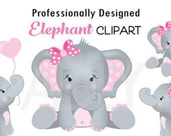 Elephant Clip Art Etsy Download Free Best Quality On Clipart Email Elephant Clip Art Baby Clip Art Elephant Svg