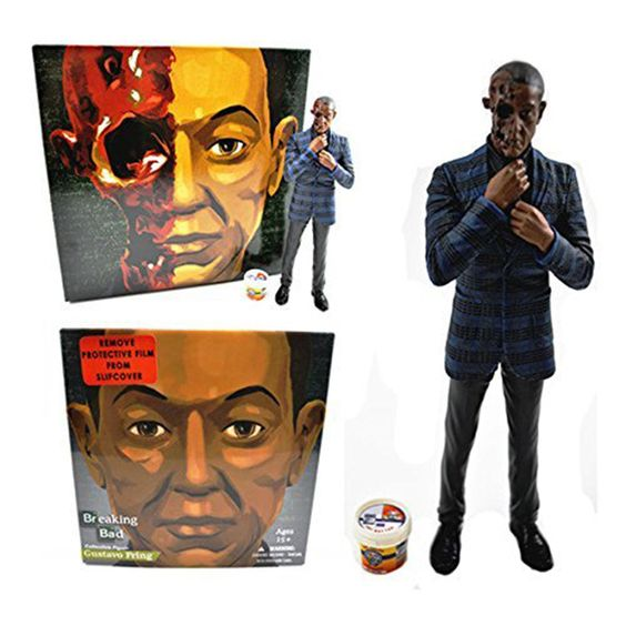 """Breaking Bad 6"""" Action Figure: Burned Face Gus Fring Exclusive"""