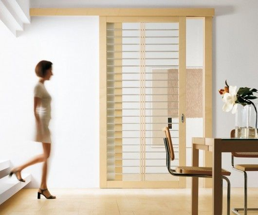 Modern Interior Exit Sleek Sliding Door