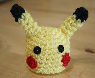 Mrs Flowerpot: The Big Knit - Pikachu Crochet Pattern