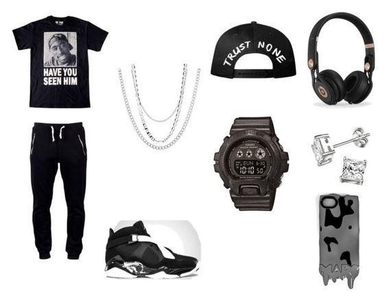 """""""2 Chains But I Got Me A Few On"""" by kaysean9 ❤ liked on Polyvore"""