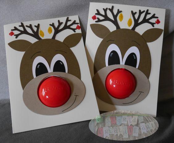 Sigrids kreative ART: Anleitung zur Rudolph-Karte
